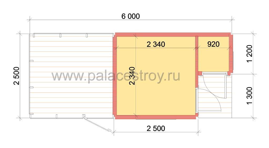 Block_s_drov_6x2,5_Plan
