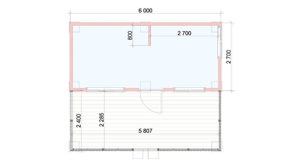 Летняя кухня План Заказ 362