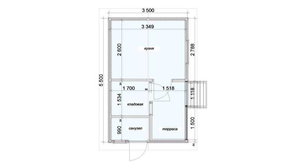 План помещений Заказ 388