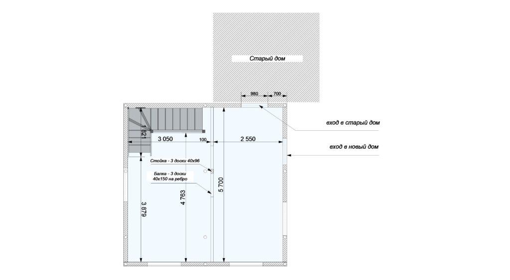 План помещений 1 этаж новый Заказ 387