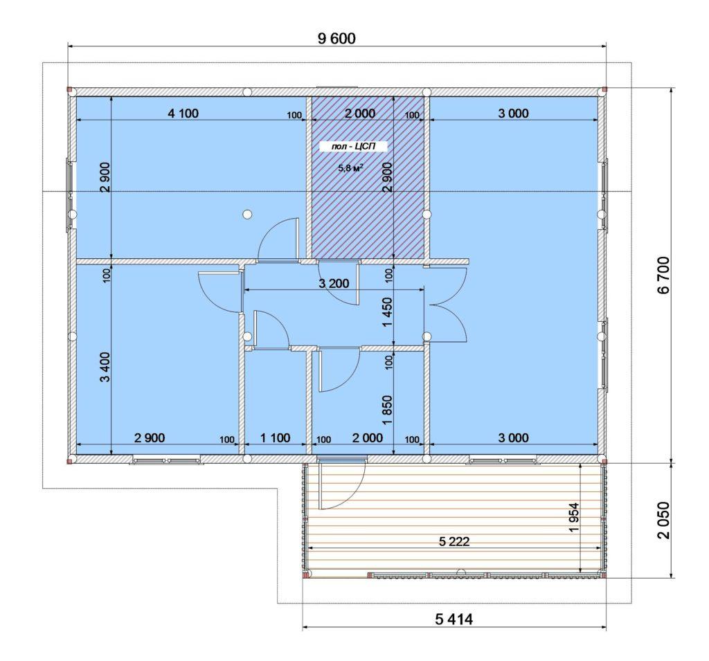 План этажа (2)