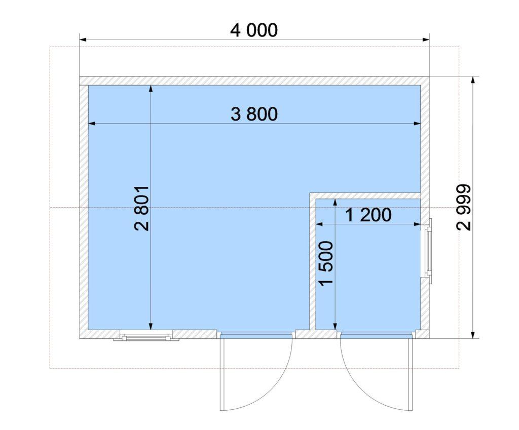 План этажа 312