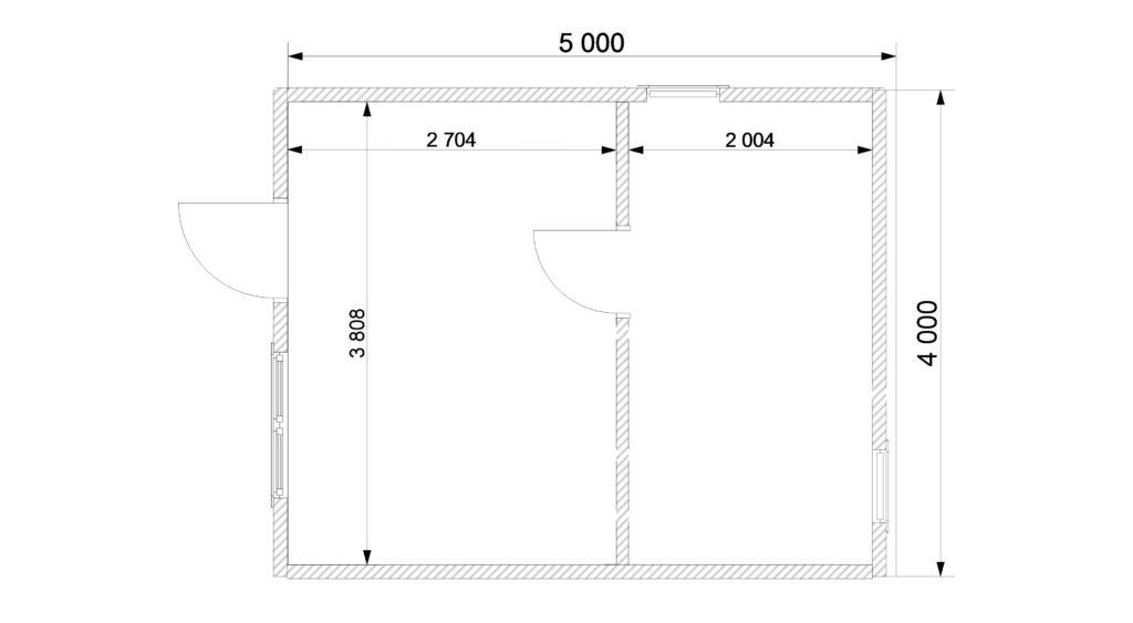 План 1 этаж Заказ 386