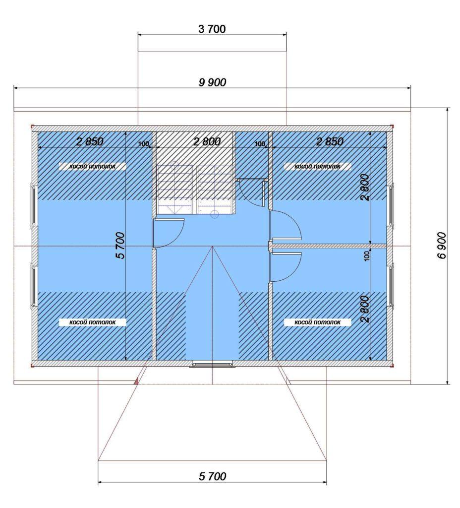 План 2 этаж Заказ 339