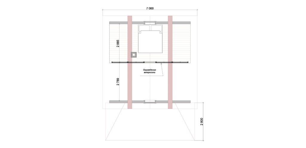 План 2 этаж Заказ 392