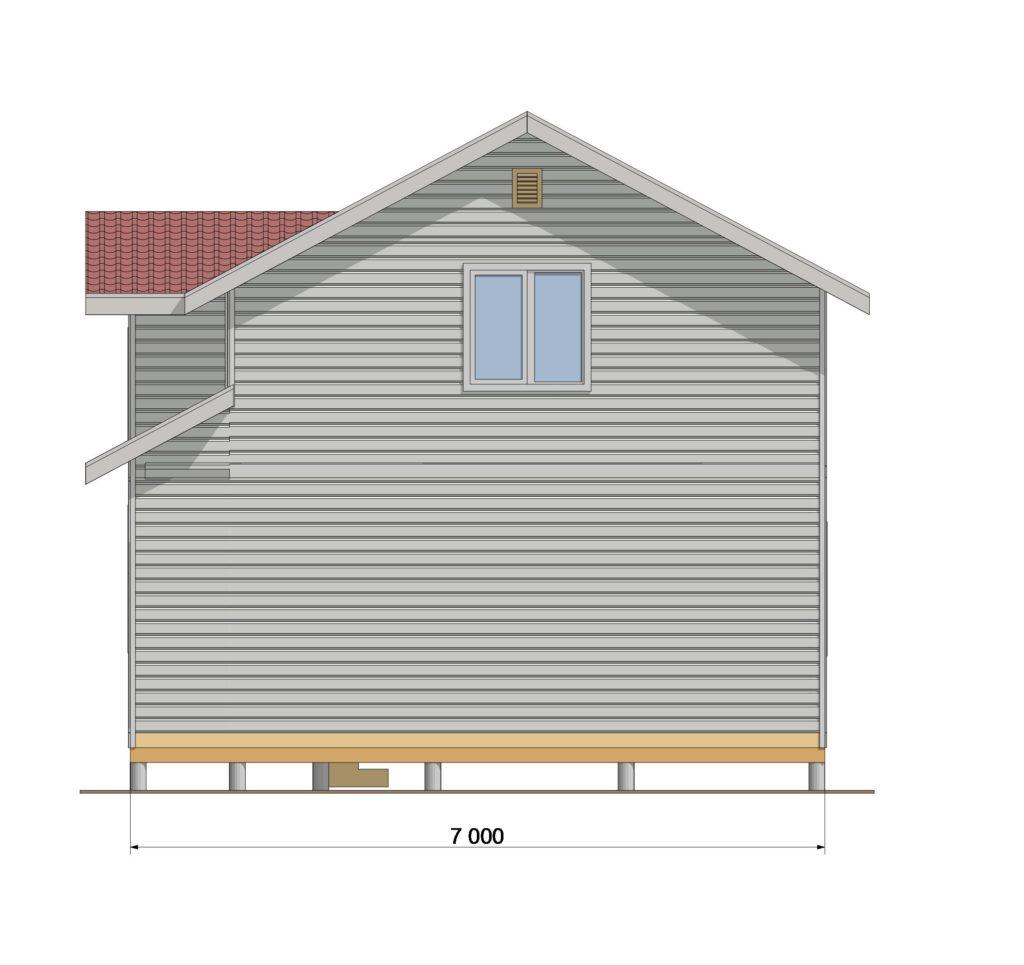 Фасад северный ЗАКАЗ 330