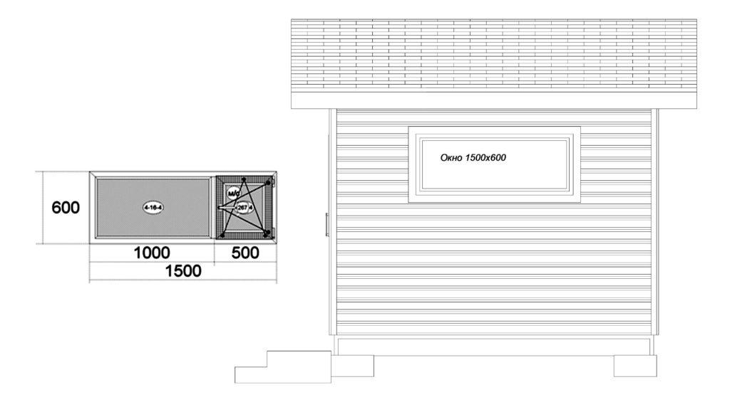 Фасад справа Заказ 319