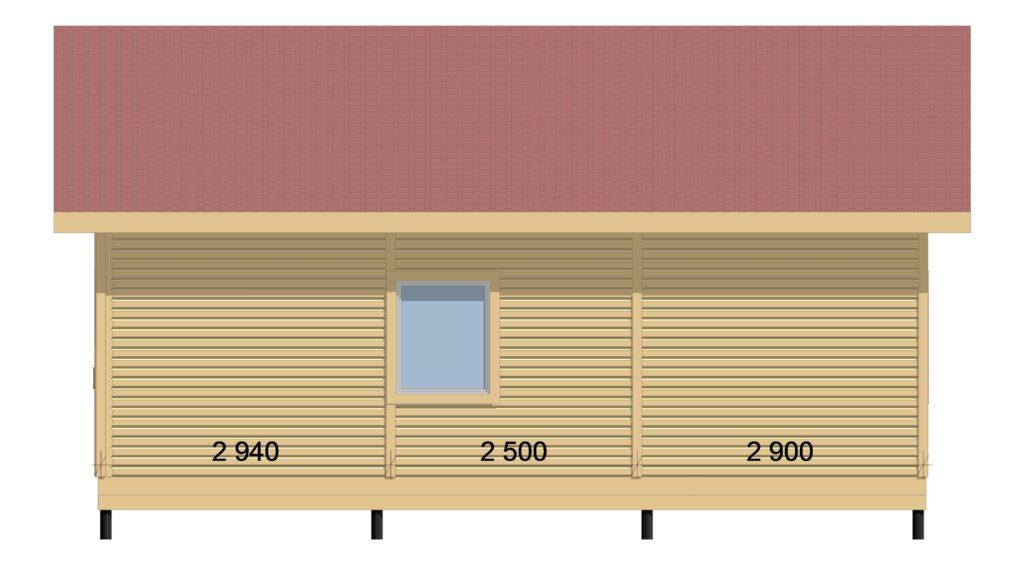 Фасад справа Заказ 326