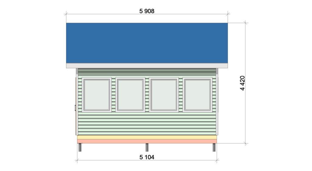 Фасад 1 ТП 555.1-1
