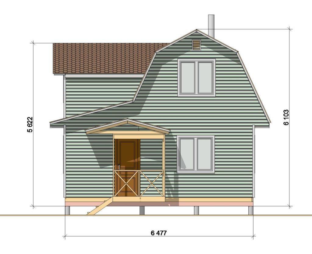 Фасад 1 46.2-3МК