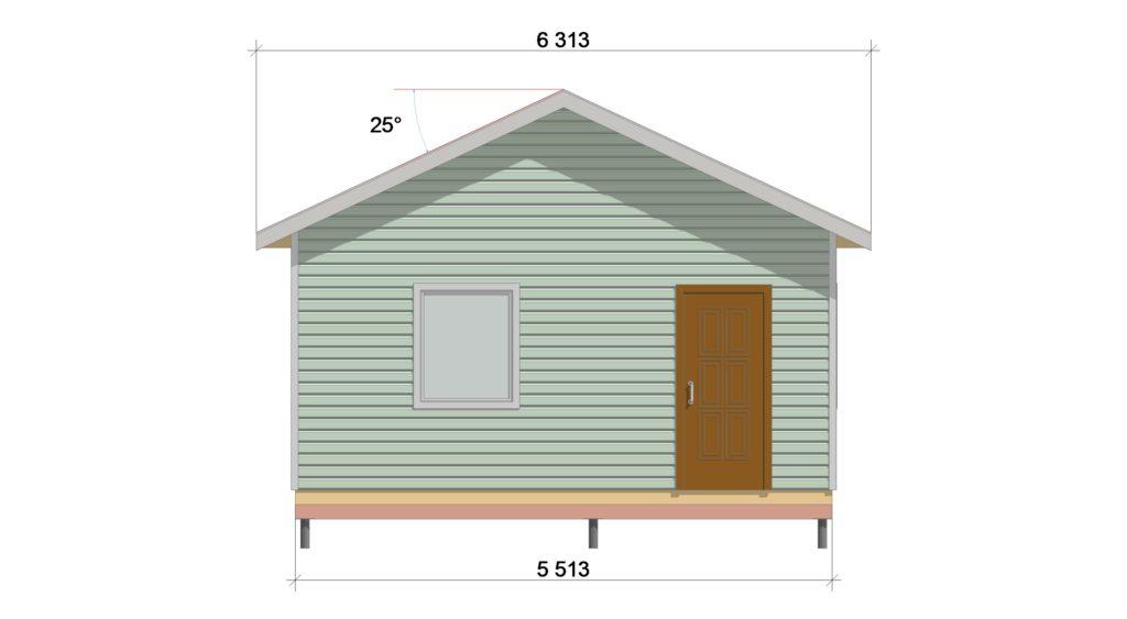 Фасад 2 ТП 555.1-1
