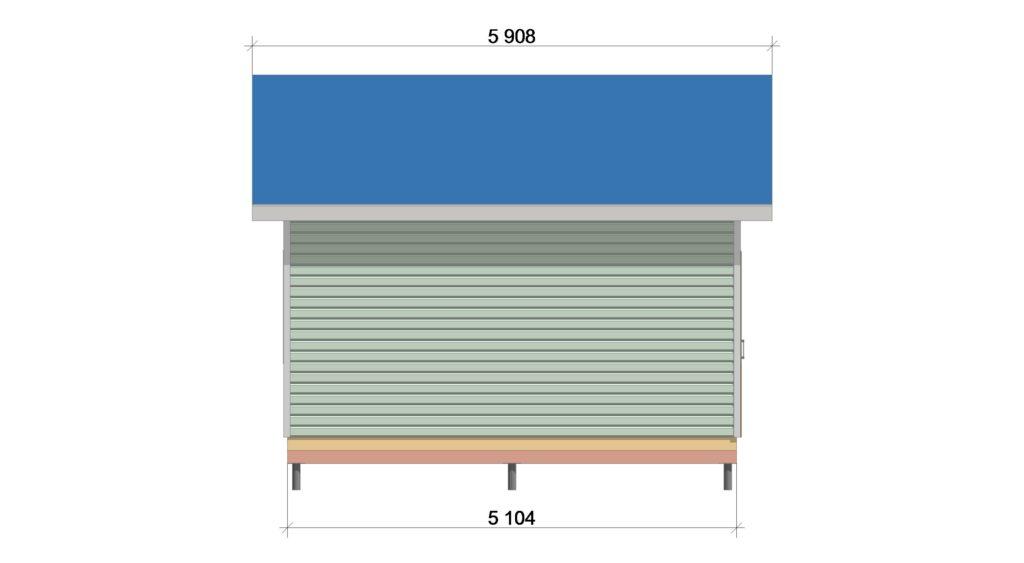 Фасад 3 ТП 555