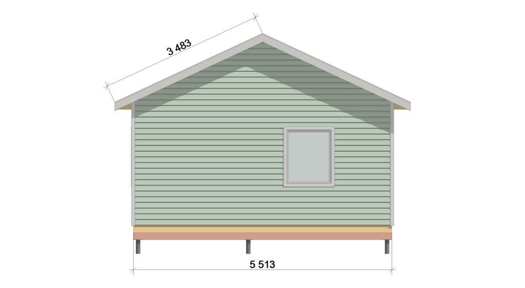 Фасад 4 ТП 555.1-1